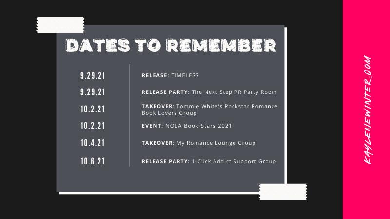 Kaylene Winter - Dates to Remember