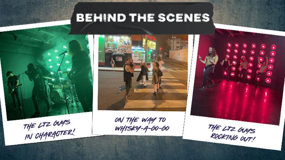 Behind the Scenes - LTZ Photo Shoot